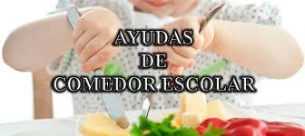 AYUDAS COMEDOR ESCOLAR